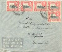 BRITISH KUT 1939 15C Coffee plantations Kilimanjaro (5x) rare multiple postage