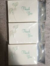 Party Mania Thank You Cards Blank Inside 25 Cards Set Of 3- 75 Total