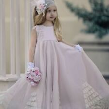 NWT Dollcake All in the Details Pink Frock Dress Girls size 4