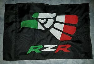Custom Hecho en Mexico RZR ATV Safety Replacement Whip Flag. Great 4 Jeep UTV