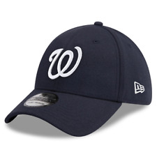 Washington Nationals New Era MLB Team Classic 39THIRTY Curve Hat - Navy