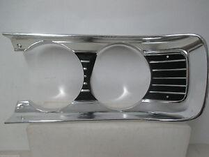 Mopar NOS 1970 Plymouth Fury Left Hand Headlight Bezel Second Variant 3443227