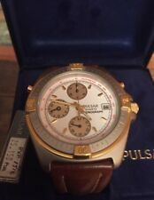 PULSAR (SEIKO) CHRONO WATCH MEN RELOJ