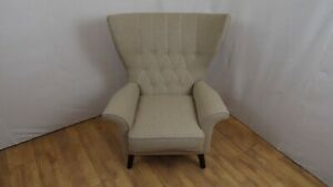 COMFY WING BACK  ARMCHAIR - PURE WOOL