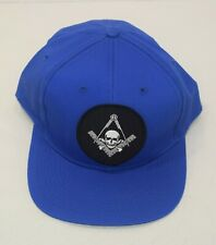 Masons Freemason Masonic Blue with Square Compass Windows Son Patch Cap Hat