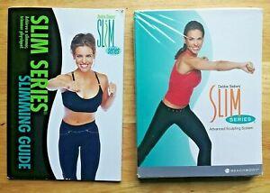 Beachbody Debbie Siebers' Slim Series Advanced Sculpting 3-DVD Set w/ Slim Guide