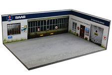 Diorama SAAB Ottersten Bilservice - 1/43ème - #43-3-D-H-R-002