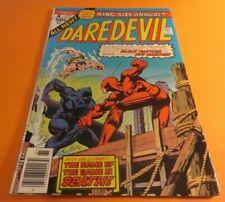Daredevil King-Size Annual #4 1976 Black Panther & Sub-Mariner App Fine Copy