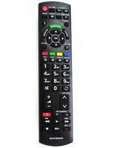 Ersatz Fernbedienung für Panasonic N2QAYB000487 TV Fernseher
