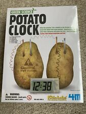 Green Science Potato Clock. Kids Science Experiment. Brand new and sealed.