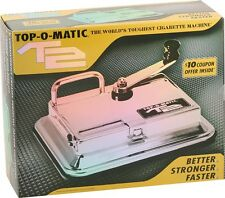 Top-O-Matic T2 Cigarette Tobacco Injector Machine for King's or 100's
