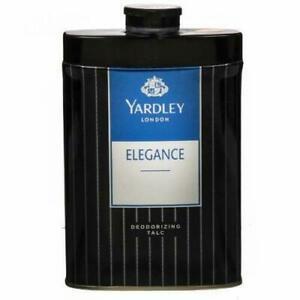 Yardley London Perfumed Talc Elegance Deodorizing Talcum Powder 100 g, 250 g