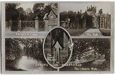 Vintage Postcard. R.P.  Arrowe Park, BIRKENHEAD. Unused. Ref:71243