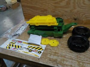 rolly toys John Deere Farm Trailer with Detachable Sides for Pedal Tractor, Yout