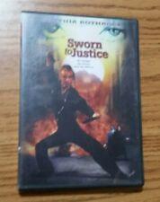 Sworn to Justice (DVD, 2001) Cynthia Rothrock Martial Arts Rare OOP