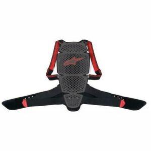 Alpinestars Nucleon KR-Cell Smoke / Black / Red Motorrad Back Protector
