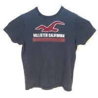 Hollister T-Shirt Mens Large Logo Applique Vtg-Style Short Sleeve By Abercrombie