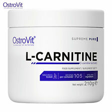 OSTROVIT L-CARNITINE 105 PORZIONI! Perdita di peso - Brucia grassi -polvere pura