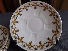 Limoges unique  porcelaine Limousine 4 sous tasses à café porcelaine de LImoges
