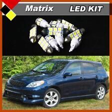 11x White Interior LED Lights Package Kit Fits 2003-2008 Toyota Matrix #A91