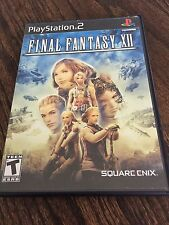 Final Fantasy XII (Sony PlayStation 2, 2006) Wow Nice Disk NG6