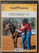 Clinton Anderson HORSEMANSHIP 101 Horse training 6 DVD set