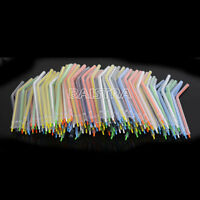 200pcs Dental Spray Nozzles Tips For 3-Way Air Water Syringe Disposable Colorful