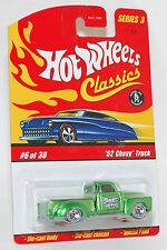 Hot Wheels Classics '52 Chevy Truck Spectraflame Green 1:64 Series 3