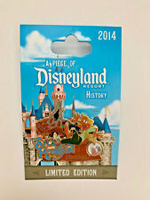 DLR Piece of Disney History 2014 Splash Mountain Brer Fox Disneyland Le1500 Pin