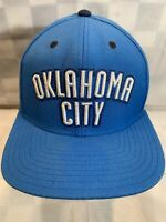 OKLAHOMA CITY Adidas Basketball NBA THUNDER Snapback Adult Cap Hat