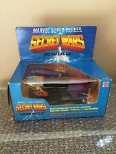 MARVEL SECRET WARS Mattel 1984 DOOM CYCLE Vehicle Brand New Rough Box