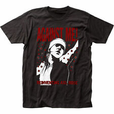 AGAINST ME! - Reinventing Axl Rose T-shirt - Size Small S - NEW - Anarcho Punk