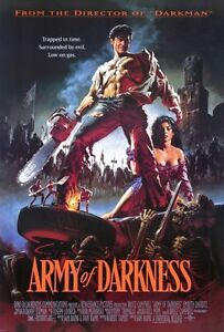 """ARMY OF DARKNESS (1993) Movie Poster [Licensed-NEW-USA] 27x40"""" Theater Size"""