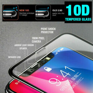 10D Curved Full Cover Tempered Glass Screen Protector For Smart Cellphones