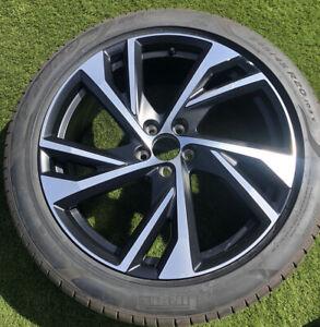 "1 Volvo XC40 R-Design + 2019 8.0J x 20"" Alloy Wheel & Tyre 31471558 Genuine OEM"
