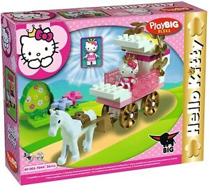 BIG 57044 - PlayBIG Bloxx Hello Kitty Princess Kutsche