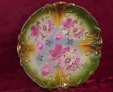 ART NOUVEAU Germany ILMENAU Porcelain Factory IPF Cabinet Plate Charger Antique