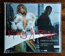 MARY J BLIGE - FAMILY AFFAIR ENHANCED CD SINGLE *POP *URBAN *R&B *DR DRE