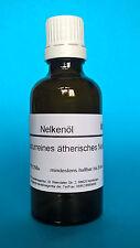 Naturreines ätherisches  Nelkenöl 50 ml  (23,96 €/100 ml)