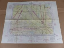 Maps carte CANADA Mines and Surveys N.W 50/108 MOOSE JAW-WATROUS 1951 (36)
