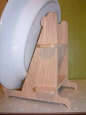 OAK WOODEN PLATE / PICTURE  STAND (Display Stand)