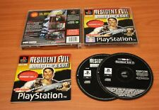 JEU SONY PS 1  Resident Evil Director's cut    complet