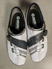 BONT Helix Road Cycling Shoe: Euro 44.5 Wide, White/Charcoal