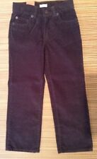 Crew Cuts Gray Corduroy Pants Size 5 Straight Leg Fit NWT