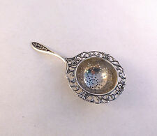 Dutch Hallmarked 835 Sterling Silver Tea Strainer