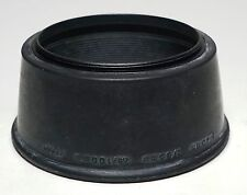 Olympus OM Camera Zuiko 40/2 85/2 100/2.8 Rubber Lens Hood Shade
