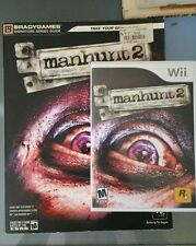 Manhunt 2 BradyGames Series Guide Strategy Guide book PS2 PC PSP plus Wii game