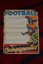 Belle affiche CHAMPIGNEULLES - FOOTBALL -63cm x 47cm (Thème : Bière)