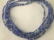 Pearly Blue  Waist Beads Exquisite