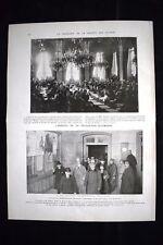Societe des Nations Délégation Allemande Vaucresson WW1 Guerra 1914 - 1918